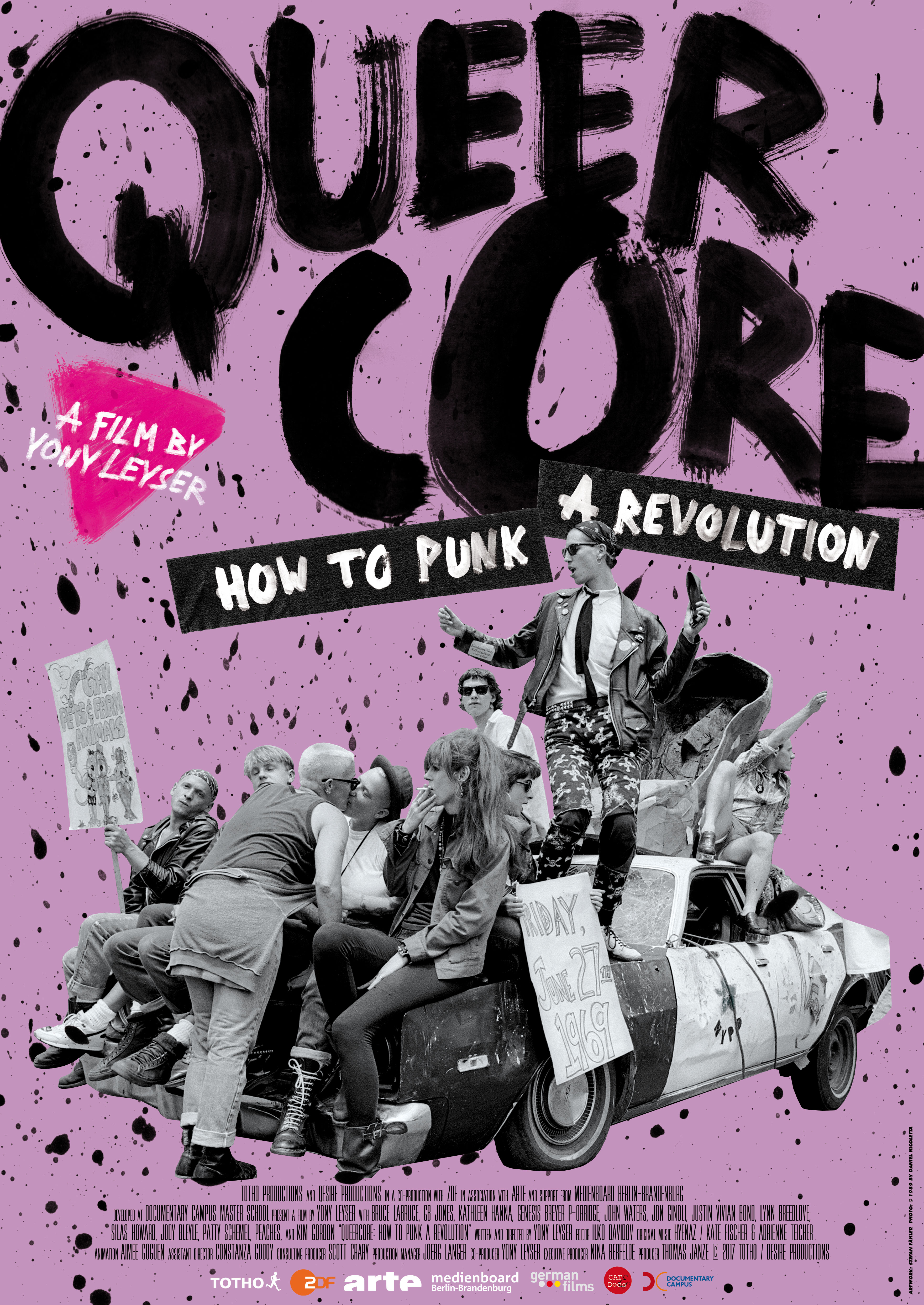 The history of the Queercore movement and its cultural response with special focus on its music (Peaches, Gossip, etc.)